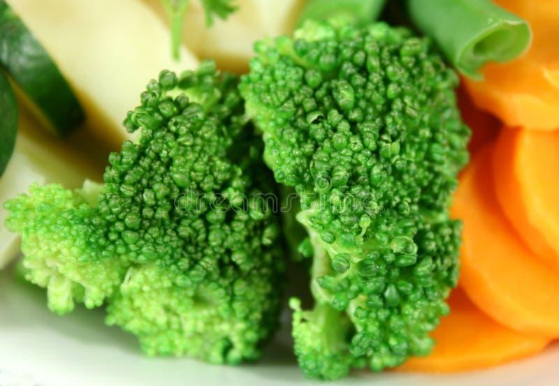 ångad broccoli royaltyfria bilder