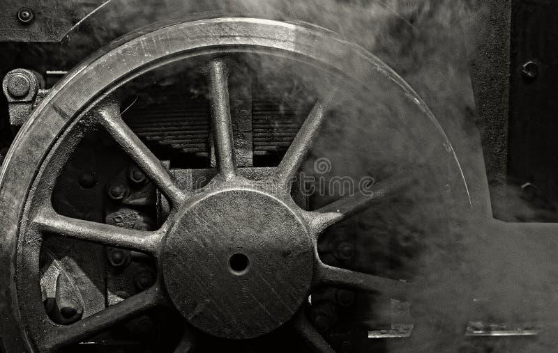 Ångamotor royaltyfria foton