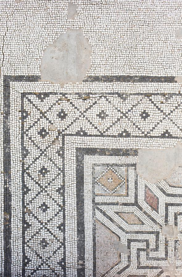 Århundrade A för rd för golvmosaik-romare period 2-3: D , fotografering för bildbyråer
