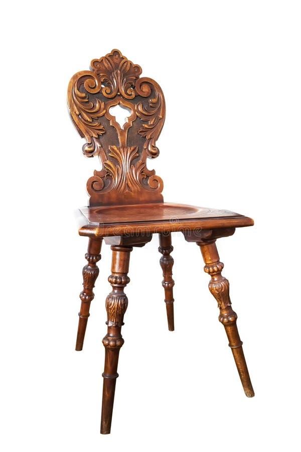 Århundrade för stol XIX arkivbild