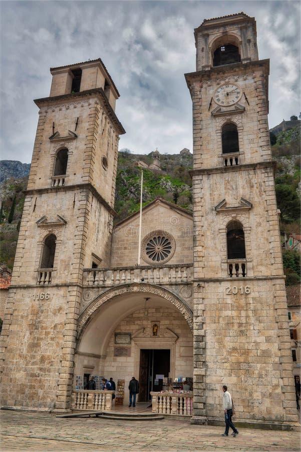 årig kyrka 950 i Montenegro arkivbilder