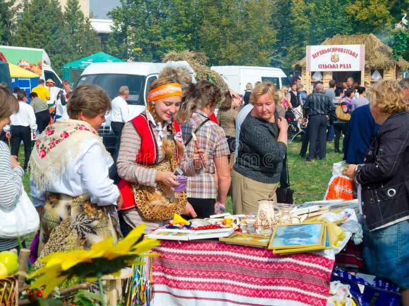 Årlig agro utställning SUMY-2012 royaltyfri bild