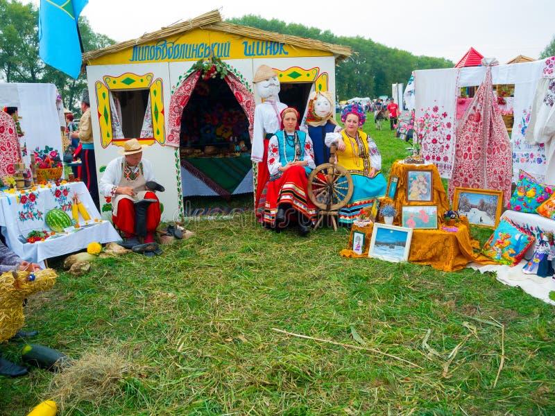 Årlig agro utställning SUMY-2012 fotografering för bildbyråer