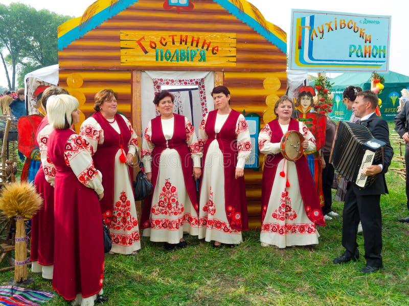Årlig agro utställning SUMY-2012 royaltyfri fotografi