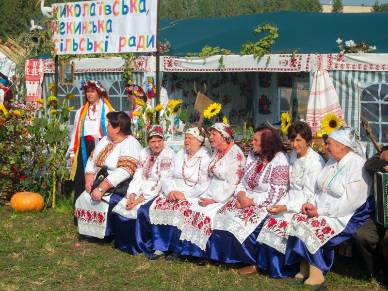 Årlig agro utställning SUMY-2012 royaltyfria bilder