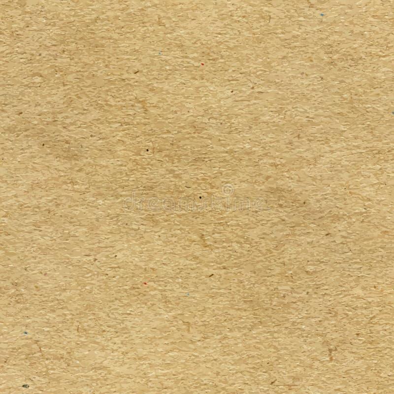 Återanvänd pappers- textur för vektor hantverk vektor illustrationer