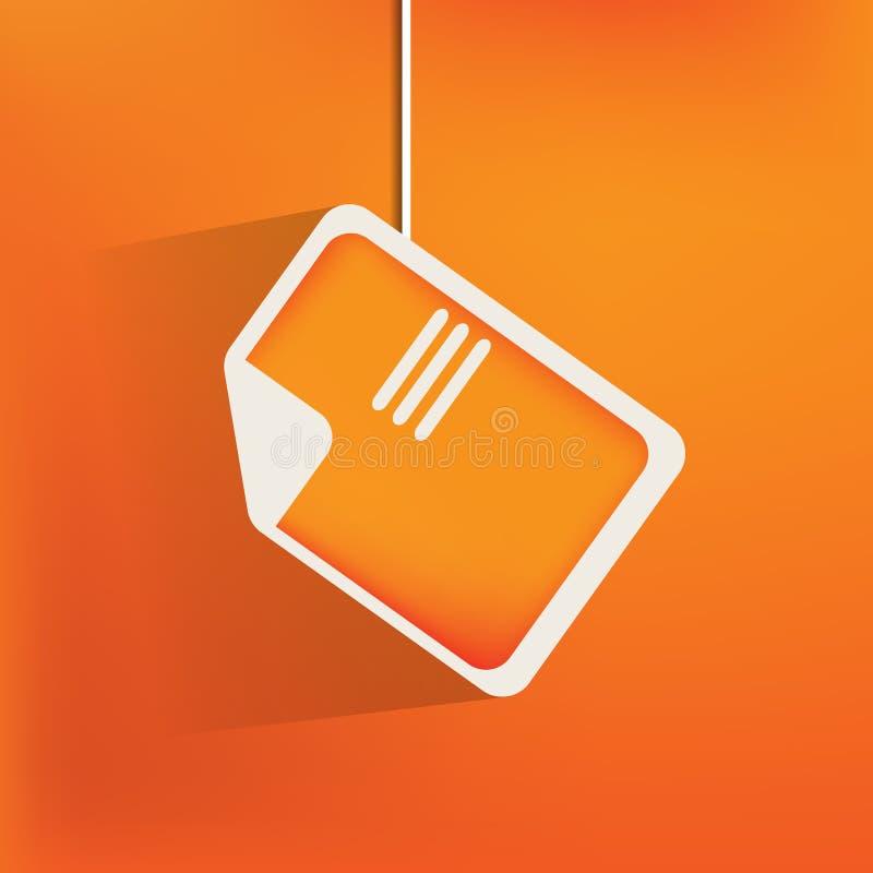 Återanvänd teckenrengöringsduksymbolen, lägenhetdesign stock illustrationer