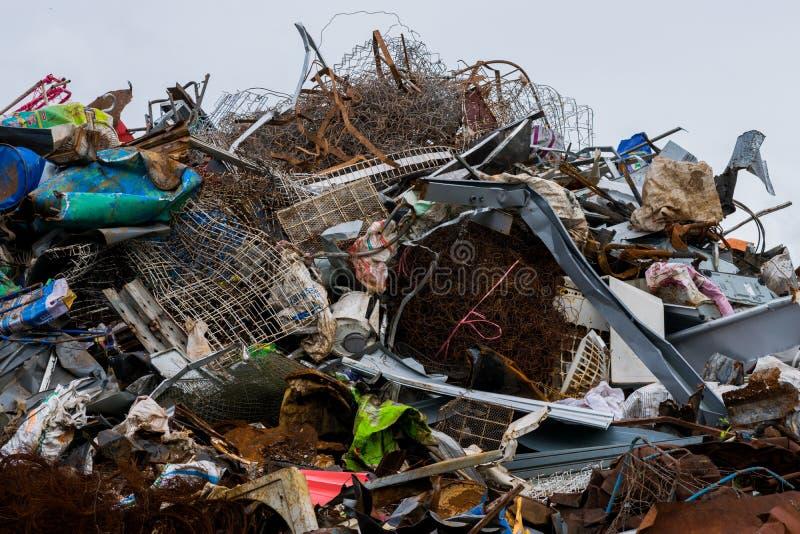 Återanvändbar avfalls royaltyfri bild