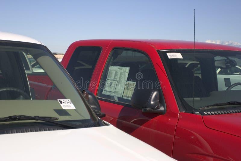 återförsäljarelastbil royaltyfri fotografi