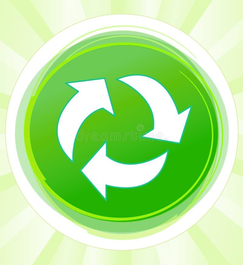 Återvinningdesign arkivbild