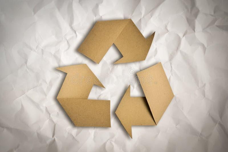 Återvinningsymbol royaltyfri foto