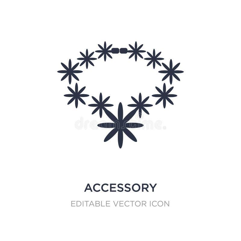 åtföljande symbol på vit bakgrund Enkel beståndsdelillustration från modebegrepp stock illustrationer