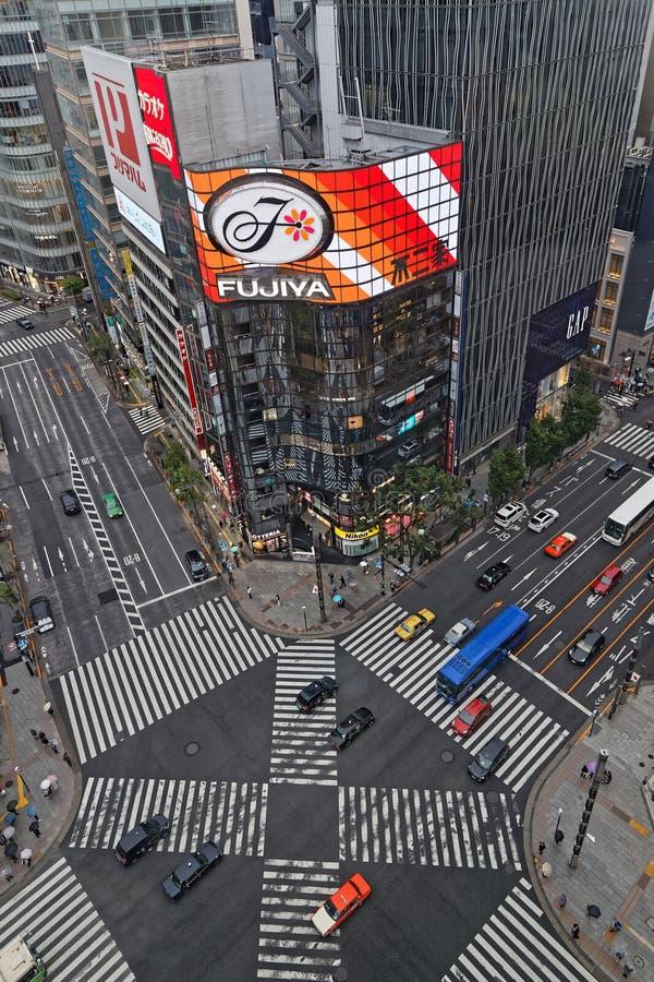 Åtskilliga övergångsställen på avenyerna fotografering för bildbyråer