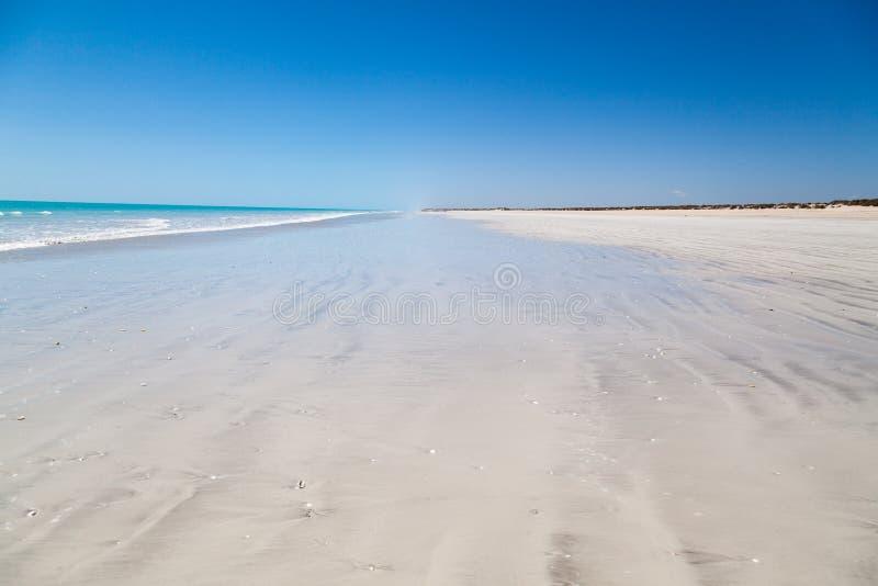 Åttio mil strand arkivfoton