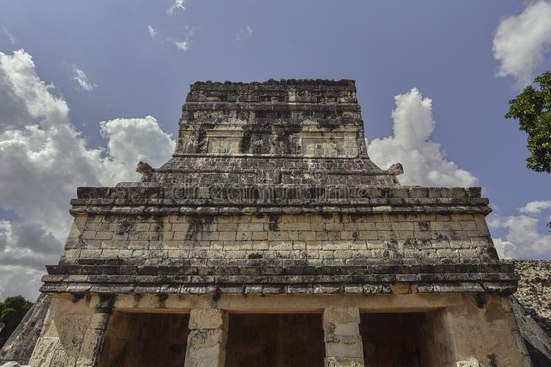 捷豹汽车2的寺庙的正面图 免版税图库摄影