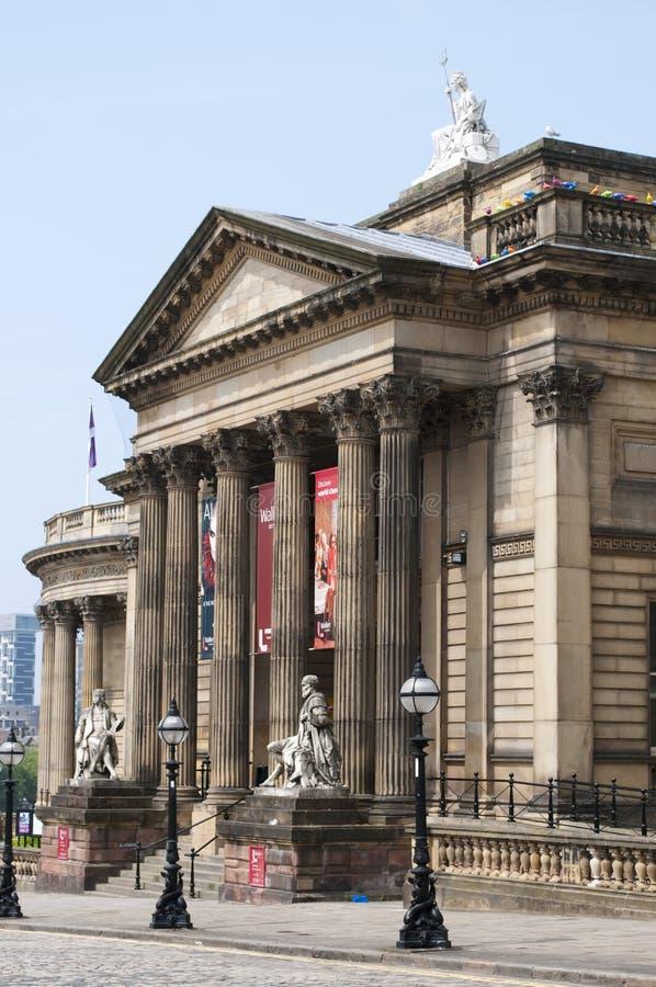 步行者美术馆,利物浦,英国 免版税库存图片