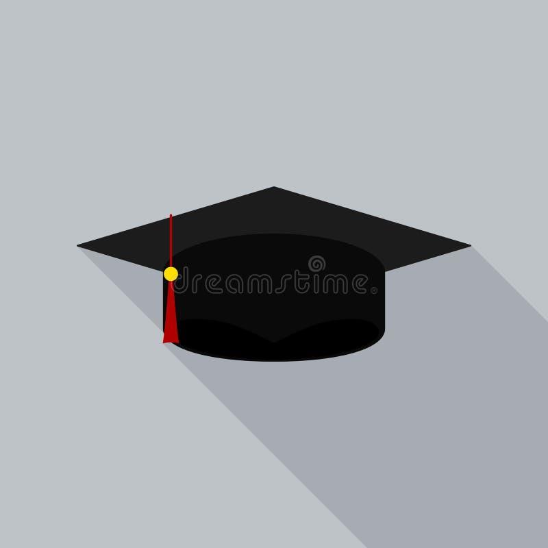 毕业盖帽平的象 皇族释放例证