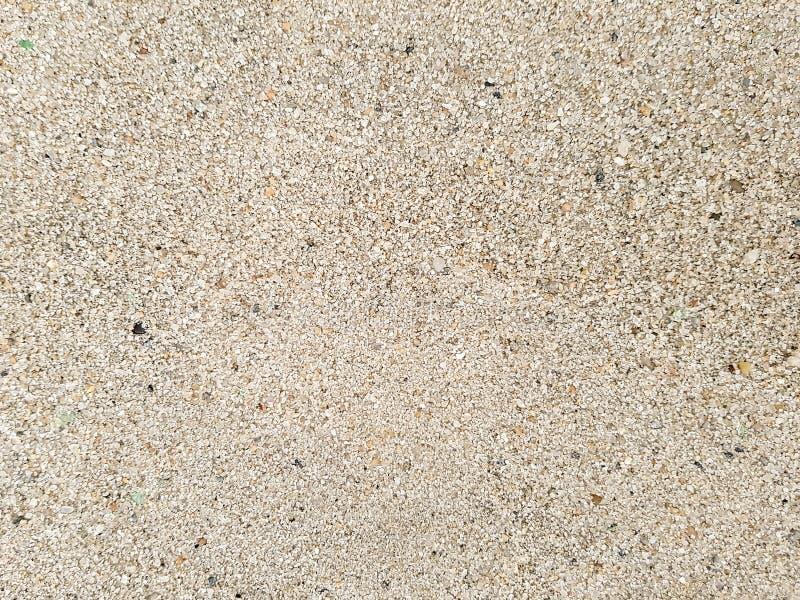 沙子纹理背景,棕色硅土水晶 免版税库存照片