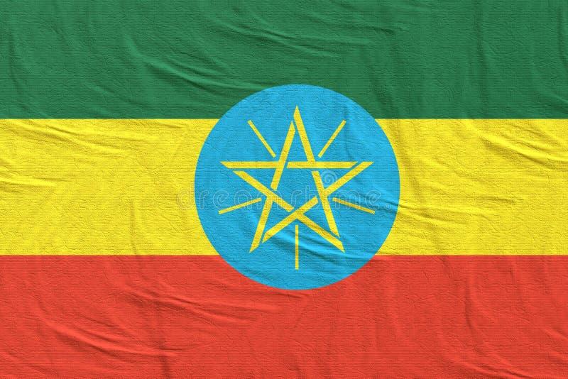 沙文主义情绪的埃塞俄比亚 皇族释放例证