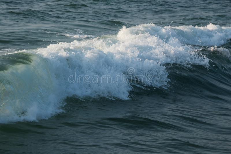 海洋水波飞溅 库存照片
