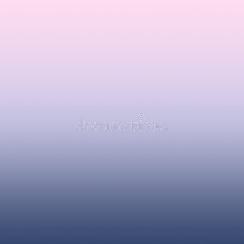淡色Ombre千福年的桃红色淡紫色蓝色梯度背景 皇族释放例证