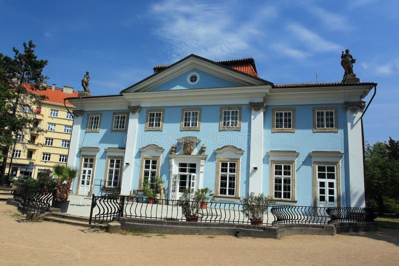温泉房子在Teplitz 免版税库存照片