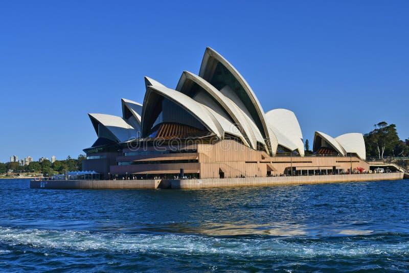 澳大利亚,NSW,悉尼歌剧大厦 免版税库存照片