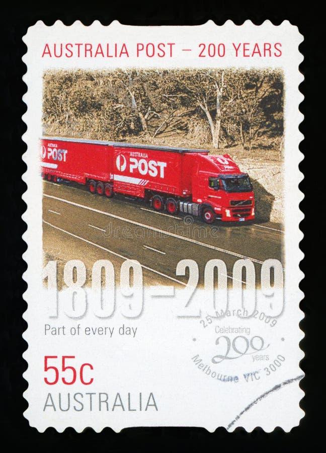 澳大利亚-邮票 免版税库存照片