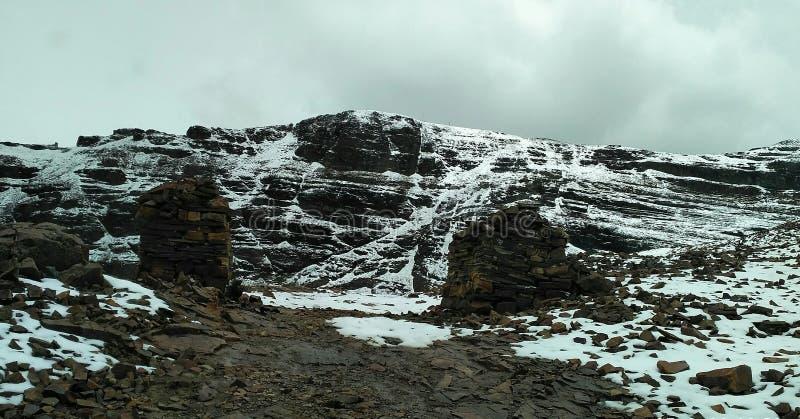 查卡塔雅山在玻利维亚 库存照片