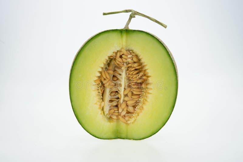 查出的甜瓜瓜 图库摄影