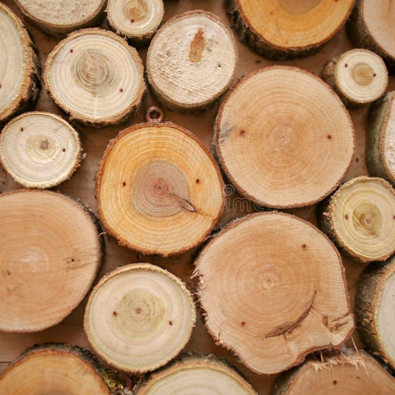 木房子作为背景 免版税库存照片