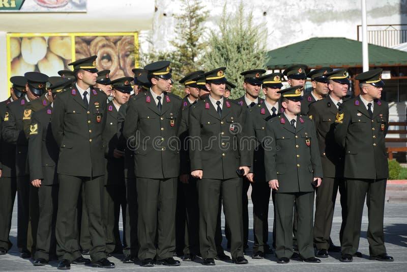 11月10日纪念日穆斯塔法・凯末尔・阿塔蒂尔克 火鸡 免版税库存照片
