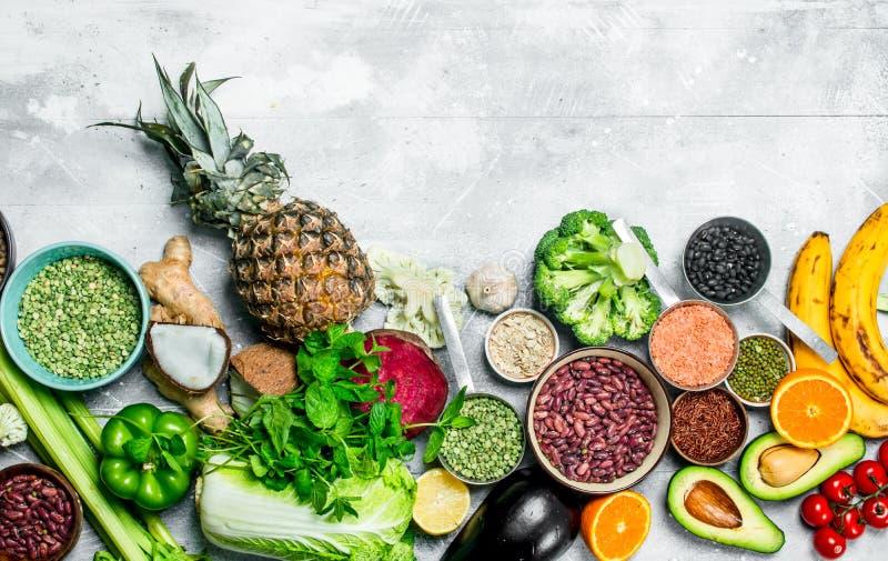 有机食品 成熟菜用豆类 库存图片