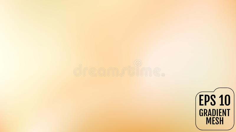 抽象桔子和金子被弄脏的梯度背景与光 假日背景 也corel凹道例证向量 庆祝概念为 库存例证