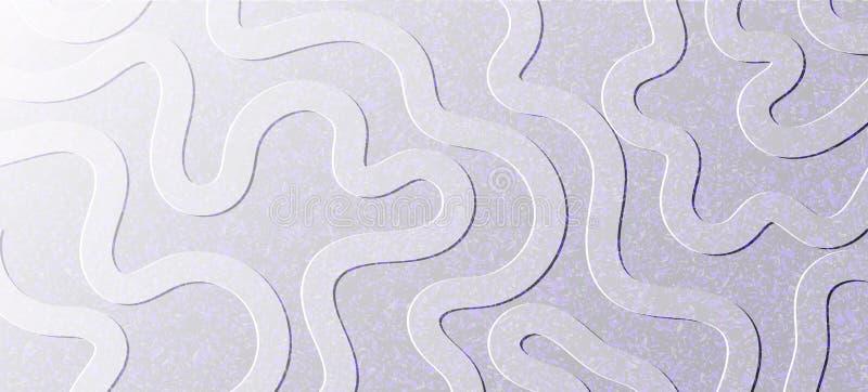 抽象背景 有线之字形的灰色织地不很细墙壁  我 向量例证