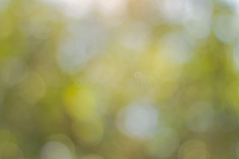 抽象蓝色Bokeh,一个摄影图象的out-of-focus区域的视觉质量,特别是如回报由一个特殊透镜 图库摄影