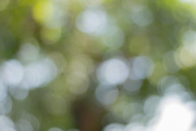 抽象蓝色Bokeh,一个摄影图象的out-of-focus区域的视觉质量,特别是如回报由一个特殊透镜 免版税库存图片