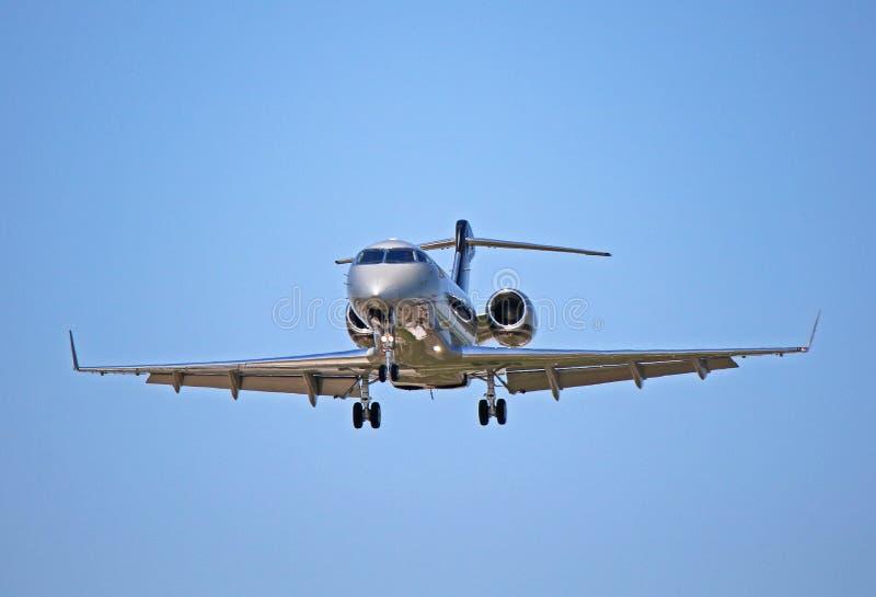 投炸弹者挑战者300私人公司喷气机 免版税图库摄影