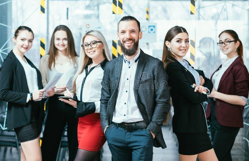 成功的企业专业teamlead收支 免版税库存照片