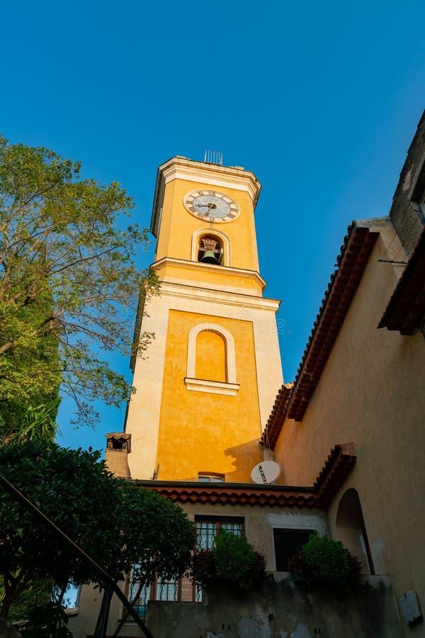 我们的埃兹的做法的夫人历史教会的外视图  免版税库存照片