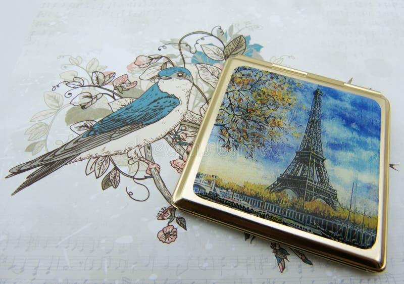 我爱巴黎 库存照片