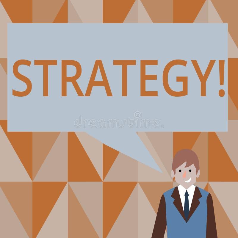 显示战略的文字笔记 企业照片陈列的小组想法计划达到成功 向量例证