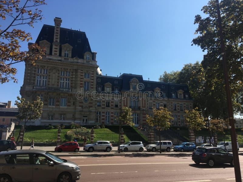 旅行在巴黎附近  免版税库存照片