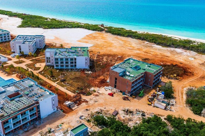 旅馆建设中古巴北钥匙的 免版税库存图片