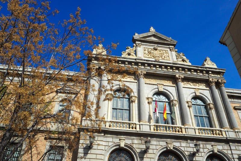 托莱多的省代表团在西班牙 免版税库存照片