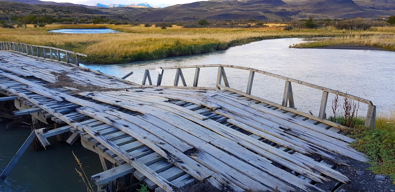 托里斯del潘恩,智利风景  免版税库存照片