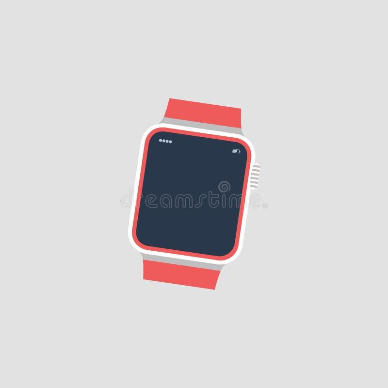 手表 时钟 象手表 也corel凹道例证向量 10 eps 皇族释放例证