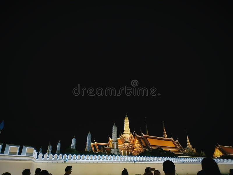 Â曼谷玉佛寺 库存照片