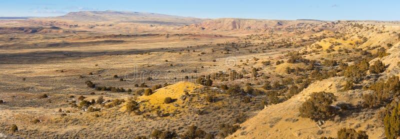 津尼外缘看法从科罗拉多西北部的 库存图片
