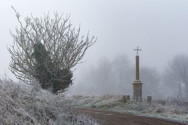 树、雾和十字架
